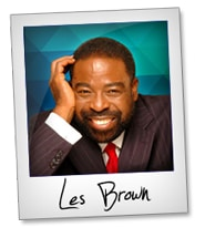 Les Brown quotes Thumbnail small productive or not