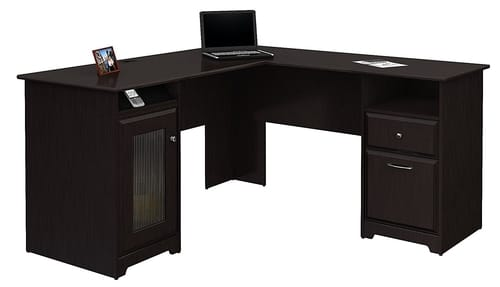 Bush Furniture L Shaped Wood Type Desk