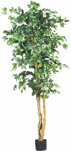 Nearly natural ficus silk indoor tree