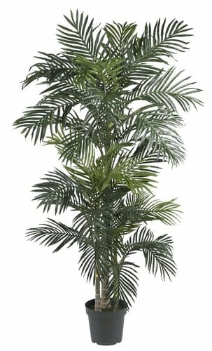 Nearly natural palm silk indoor tree