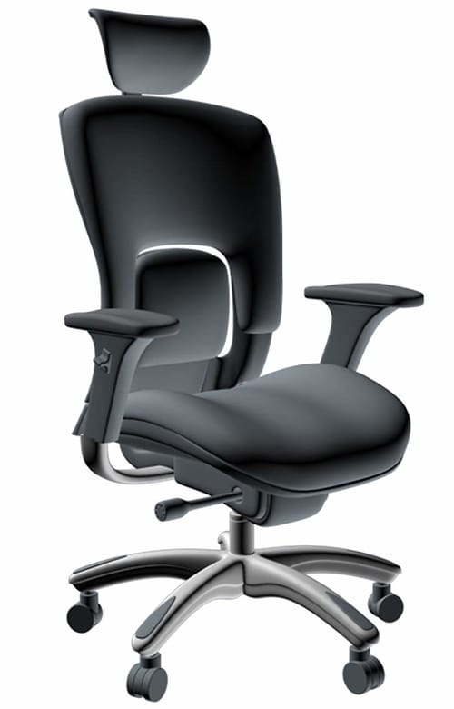 GM Seating Executive Hi Swivel Chair