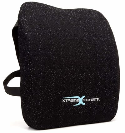 Xtreme Comforts Memory Foam Back Support Cushion